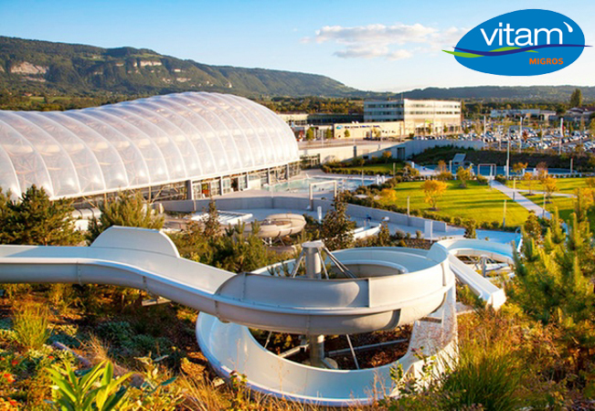 Vitam Waterpark (Just 15 mins from Geneva)