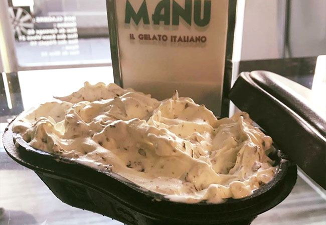 Recommended by 100% of BuyClubbers  Ice-Cream at Manu Gelato: Winner Switzerland's #1 Artisanal Ice Cream Competition  Valid at all 5 Manu Gelato locations in Geneva + Nyon  Photo