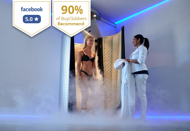 Recommended by 90% of BuyClubbers Who Tried It 2 or 5 Cryotherapy Sessions at Swiss Cryotherapy Center (Geneva & Nyon)  Flash exposure to subzero temperatures helps increase metabolism, relieve muscle pain & increase energy levels    Photo