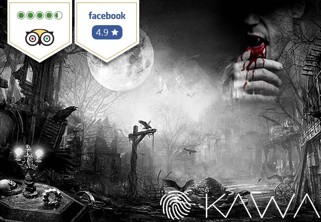 KAWA Escape Room (1 voucher = 1 game for 3-6 people)