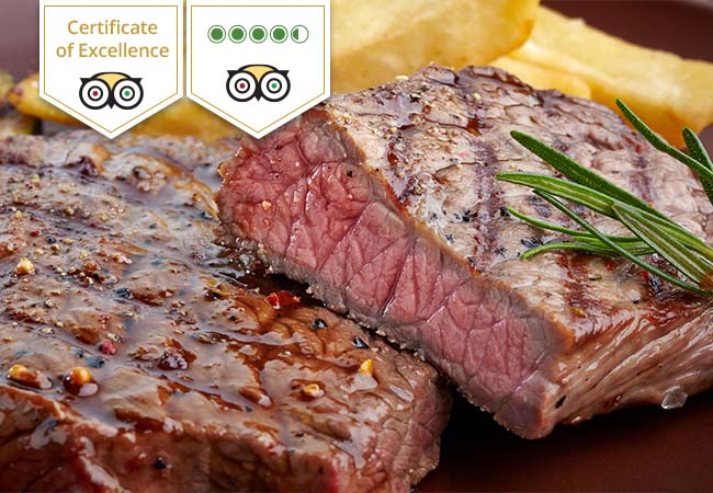 Nicklaus Steakhouse: CHF 120 credit