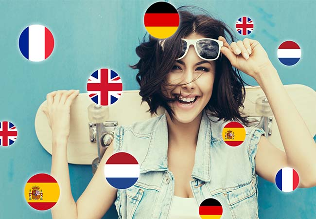 Online Language Courses (French, German, Spanish, Dutch, English) with Captain Language   6 months: 293 CHF 69 12 months: 540 CHF 99 24 months  + 6 months free bonus: 1016 CHF 139   Photo