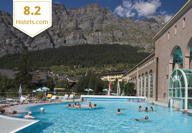 8.2 on Hotels.com
