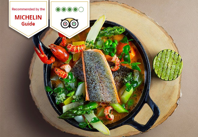 Dinner for 2 at Mandarin Oriental's Cafe Calla Restaurant