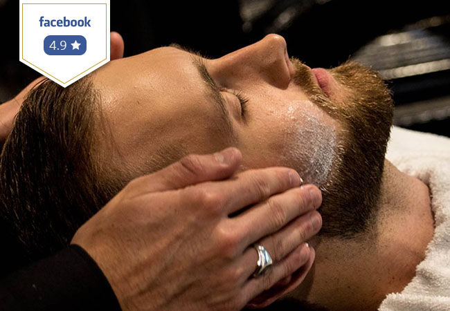 For Men: Cut & Shave (or Beard Trim) at The Barbershop