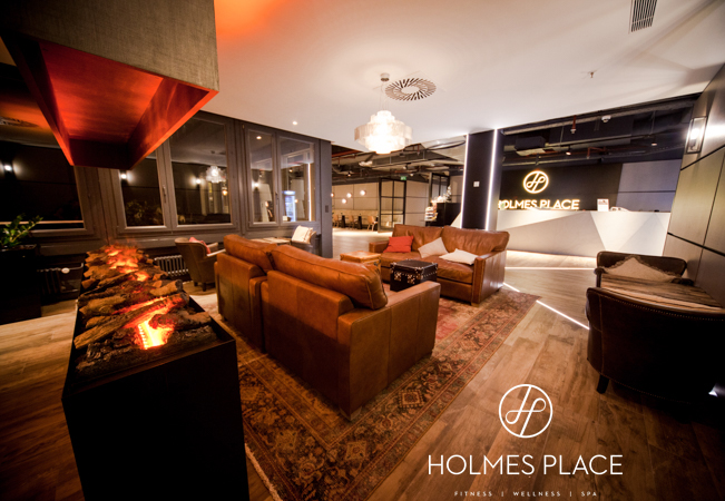 4.9 Stars on Facebook  Shape Up For 2019 at Holmes Place, Geneva's Premier Fitness & Wellness Club  Get 5 daily all-access passes to this premium gym with top-end equipment, group classes (100+ per week), jacuzzi, hammam, sauna & more. Valid 7/7  Photo