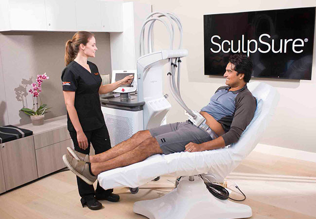 """""""SculpSure Works!"""" - ELLE  Laser Away 24% of Fat Cells in 25 Minutes with FDA-Approved SculpSure® Laser Body  Sculpting at Clinique du Lac   Small zone: CHF 900 499 Last zone: CHF 2000 999       Photo"""