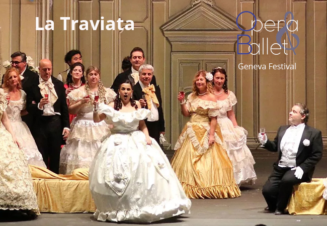 La Traviata Opera, March 7 @ Théâtre du Léman