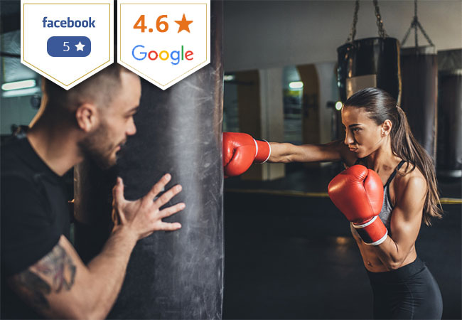 5 Stars on Facebook Boxing, MMA, Cross Boxing, Ladies' Boxing, Fitness & More at Jamaa Sport: by Swiss Boxing Champ Cedric Kassongo   Choose 10 daily passes (incl access to all group classes + facilities) or 3 personal trainings 35+ classes per week to choose from   Photo