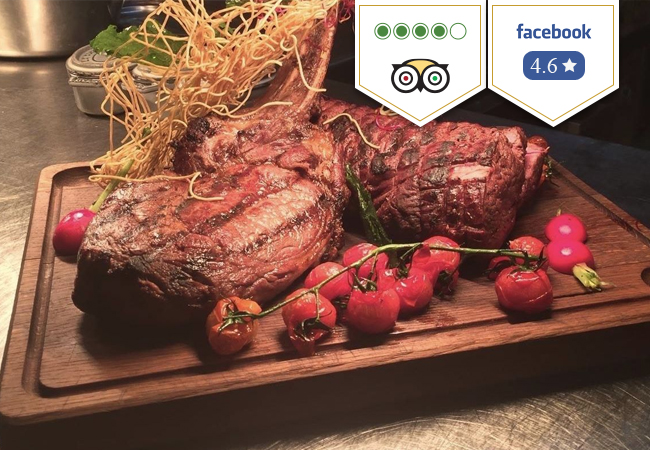 4 Stars on TripAdvisor,