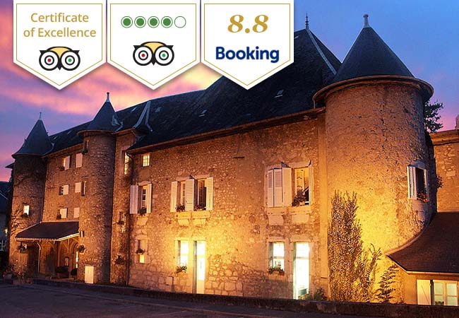 Castle Escape at Chateau des Comtes de Challes  (Tripadvisor Certificate of Excellence)