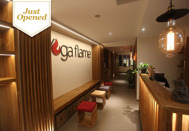 Just Opened  (50 Vouchers Added) Hot Yoga at Yoga Flame: 5-Class Pass  Yoga Flame's studio is heated to 38° so that your muscles are warmer and more flexible. 20+ classes per week to choose from, 7/7  Photo