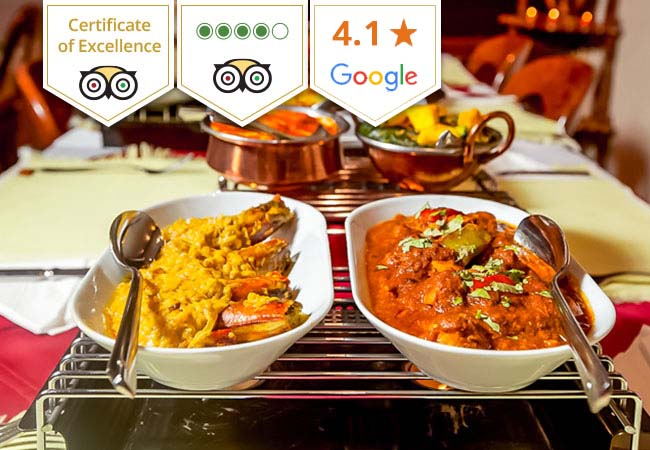 Indian at Sajna (Tripadvisor Certificate of Excellence)