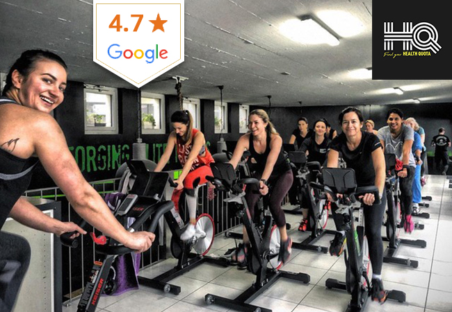5-Class Pass: CrossFit, Spinning & More at HealthQuota in Mies