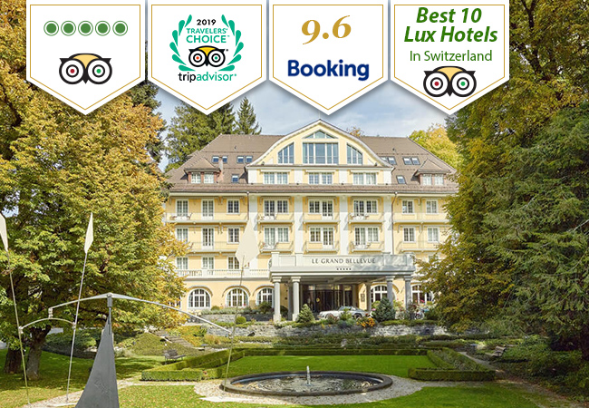 "In ""Best 10 Luxury Hotels in Switzerland"" 2019 TripAdvisor Selection