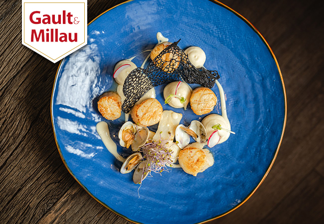 """Luxury dishes"" - Gault&Millau