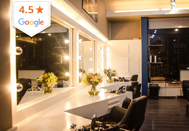 4.5 Stars on Google Le 23eme Lieu Hair  Salon (Eaux-Vives): Haircut Package with Option for Treatment Mask  For Highlights / Color / Gloss: add CHF 60 at the Salon  Photo
