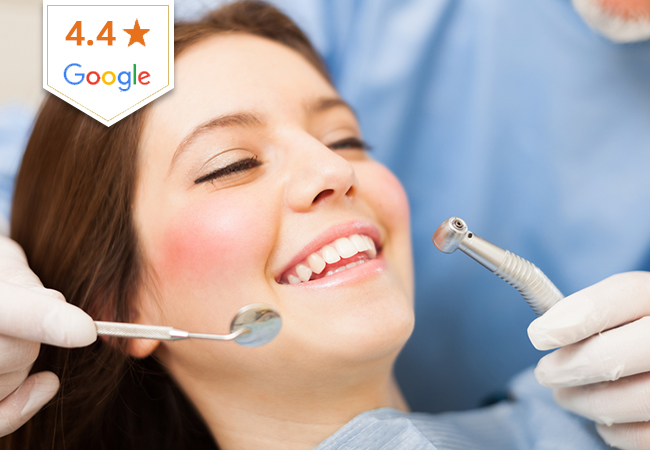 4.4 Stars on Google