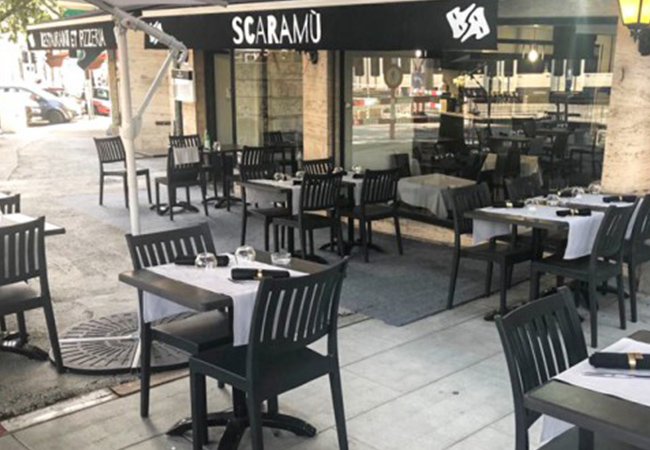 Just Opened, 5 Stars on Facebook South-Italy Cuisine at Scaramu (Eaux-Vives) by the Former Chef of Brasserie du Parc des Eaux-Vives: CHF 100 Credit  Delicious Sardinia & Campania specials - from classic pizzas to grilled octopus  Photo