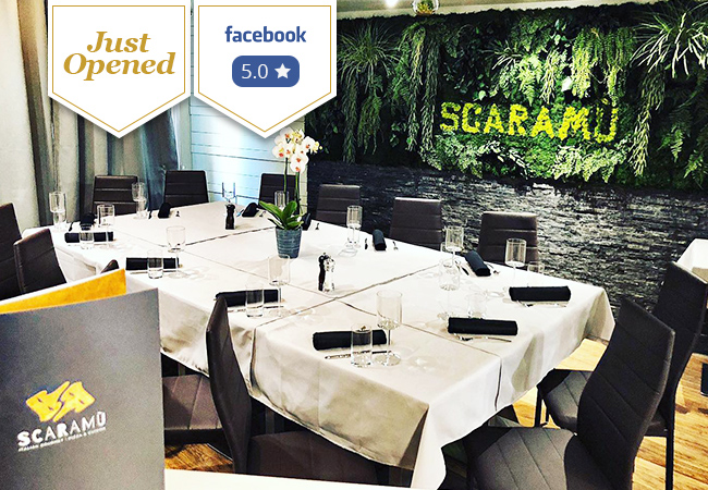 Just Opened: Italian at Scaramu Eaux-Vives: CHF 100 Credit