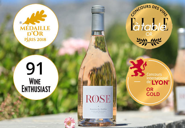 Rosé Bonbon from Domaine de Diables: 6 Bottles