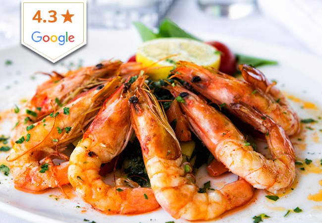 All-You-Can-Eat Gambas for 2 at La Petite Auberge