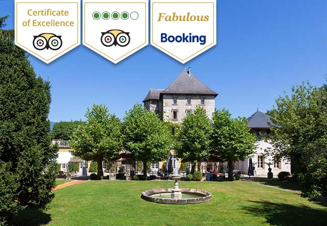 TripAdvisor Certificate of Excellence  Luxury Castle Escape in Chambéry at Château de Candie (1h from Geneva, 1h30 from Lausanne)  Valid til Feb 29, 2020   Photo