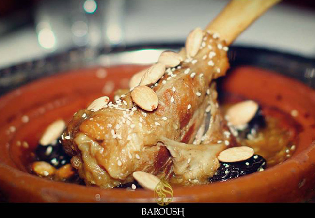 Middle Eastern Cuisine at Baroush: CHF 100 Credit | BuyClub