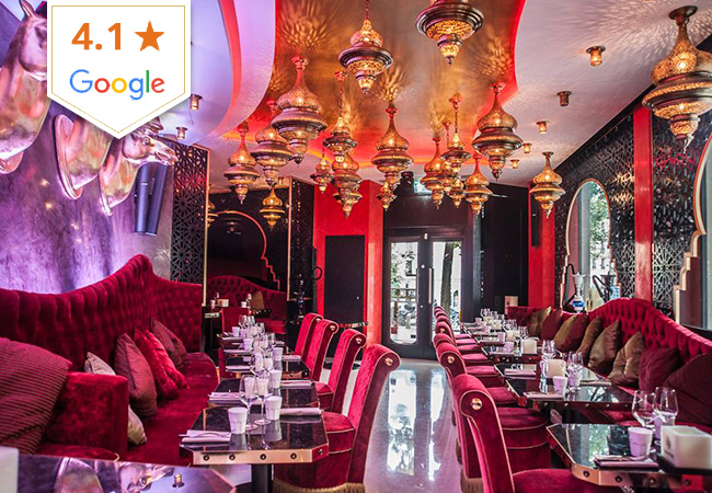Middle Eastern Cuisine at Baroush: CHF 100 Credit