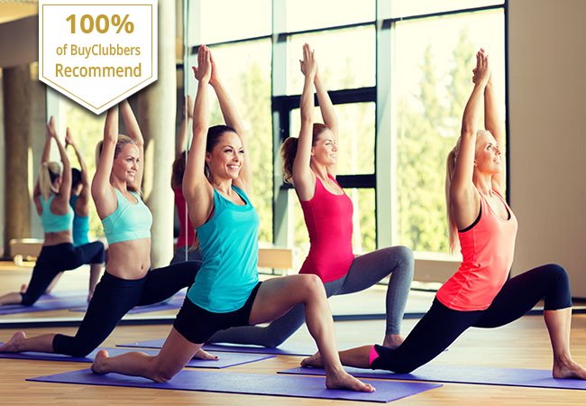 Recommended by 100% of BuyClubbers  10 Pilates and/or Yoga Group Classes at the Beautiful Swiss Pilates & Yoga Studio (Rive). Voucher Valid 1 Year  20 classes per week to choose from  Photo