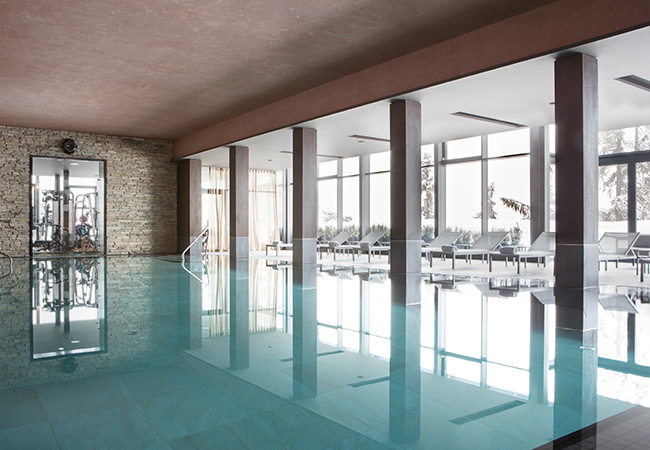 2 Min Walk to the Ski Lifts Crans Montana Ski Getaway at the 5* Crans Ambassador Luxury Resort & Spa  One of Switzerland's best ski hotels, right on the Crans Montana slopes. 1 voucher = 1 or 2 nights stay  Photo