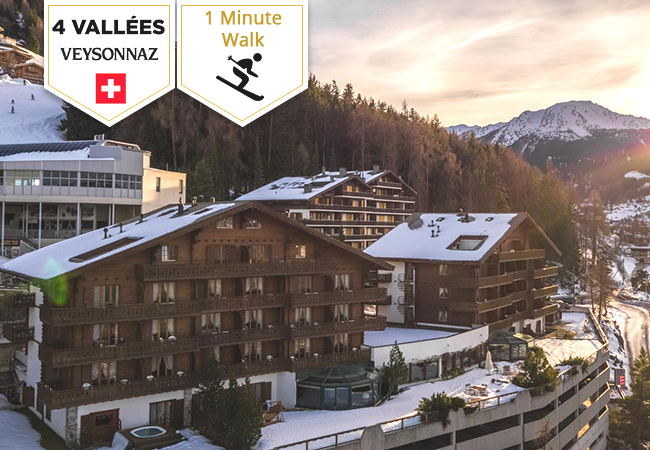 1 Minute Walk to the Ski Lifts