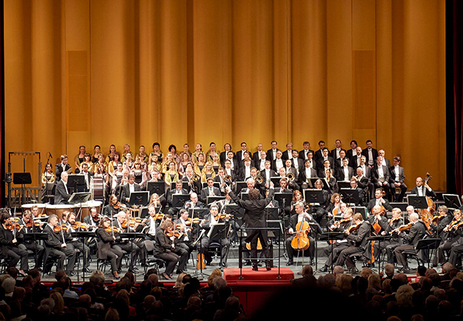 """""""Star singers & exquisite orchestra"""" - New York Times Vienna State Opera Performing Mozart's Don Giovanni: Victoria Hall, Dec 12 @ 19h  One of Mozart's best operas performed in concert version by Vienna's world-famous orchestra, choir & soloists  Photo"""