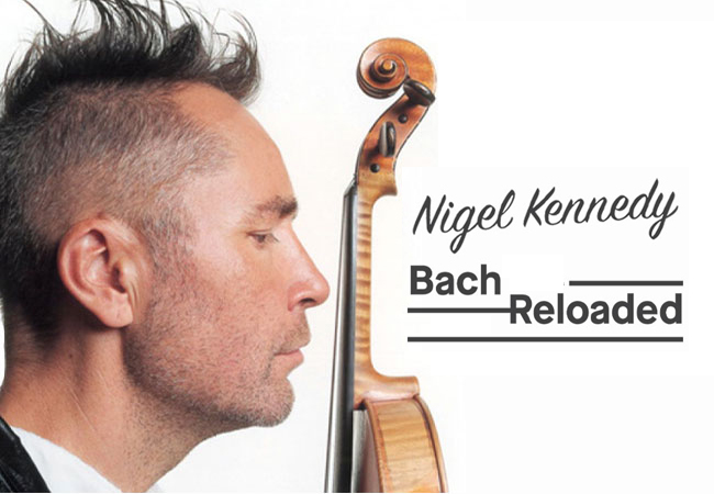 'Bach Reloaded' by Nigel Kennedy @ Victoria Hall