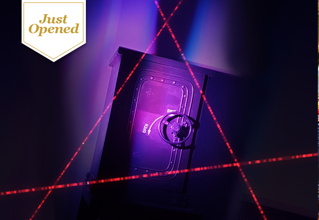 Escape Room Meets Laser Game at LASERED Geneva