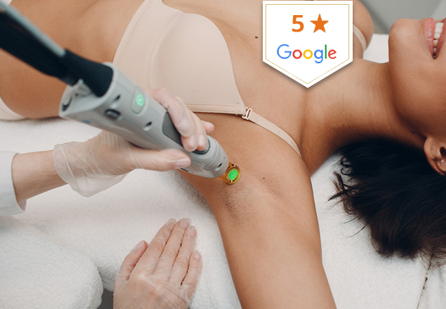 5 Stars on Google  Laser Hair Removal at Clinique de la Croix d'Or. Open Credit to Use Towards Any Body Parts:   Pay CHF 299 for CHF 600 Credit Pay CHF 589 for CHF 1200 Credit Pay CHF 1099 for CHF 2400 Credit   Photo