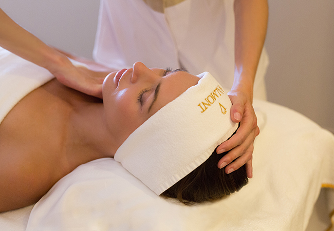 Recommended by 96% of BuyClubbers  Valmont Spa at the 5*  Fairmont Grand Hotel Geneva (formerly Kempinski Hotel)  Choose Massage (relaxing or Ayurvedic), VALMONT® Facial, or Duo-massage. All options incl 2h access to all Spa facilities. Valid Mon-Fri  Photo
