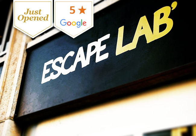 Just Opened,  Escape LAB (near Cornavin): Geneva's Newest Escape Room Complex with 9 Game Rooms  Geneva's newest escape room complex has a wide choice of games, and is already rated 5 stars on Google  Photo