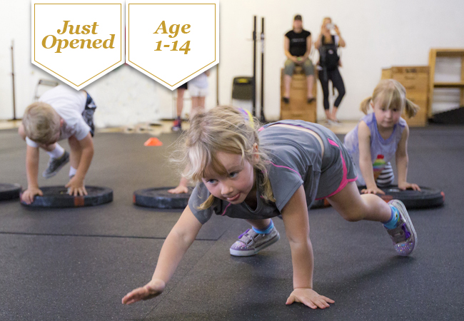 Just Opened for Ages 1-14