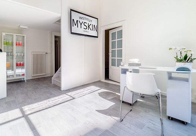 Just Opened at New Location  MYSKIN Institute: Rated 5 Stars on Facebook  Choose:    Facial (classic or radiofrequency) Massage (relaxing, lymphatic drainage, or slimming) OPI mani+pedi   Photo