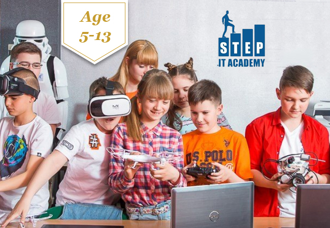 For Age 5-13 Tech Summer Camps with IT STEP Academy in Robotics, Game Development, YouTube Filmmaking & More. In EN & FREach camp is 5 full days (no sleepover) in Geneva. IT Step Academy is the world leader in kids' tech camps  Photo