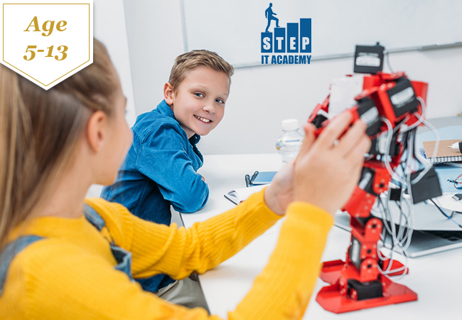 Age 5-13: Tech Summer Camp with IT STEP Academy Geneva