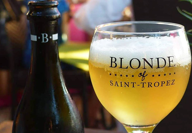 Gold Medal: World Beer Awards 2019  24 x Belgium Blonde of Saint-Tropez Artisinal Beers from Belgium's La Brasserie des Légendes Micro-BreweryDelivered Anywhere in Switzerland  Photo