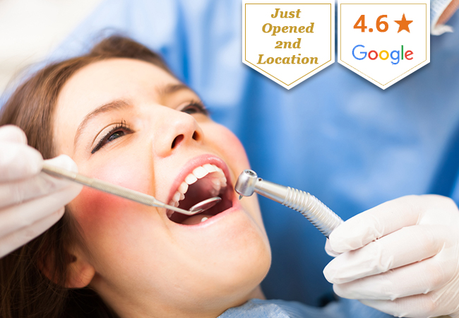 Dental Cleaning at smileandcare (2 Locations)