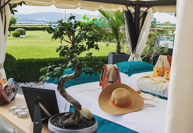 Just Opened  [Chavannes-de-Bogis] The Spa @ Everness 4* Hotel. Choose:   Massage (Outdoor Option) Facial by ESTHEDERM®   With option for outdoor massage, pool access & more. Valid Wed-Sun 10h-20h  Photo