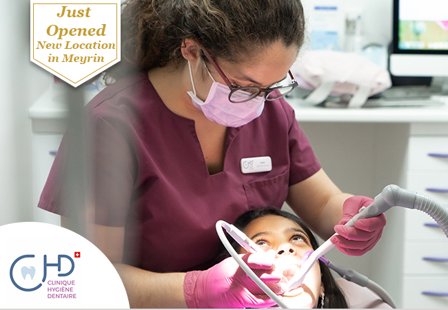 Just Opened  Dental Cleaning at CHD's New 2nd Location in Meyrin  CHD (Clinique d'Hygiene Dentaire) is recommended by 97% of BuyClubbers, and just opened a new location in Meyrin with extra-flexible opening hours Mon-Sat  Photo