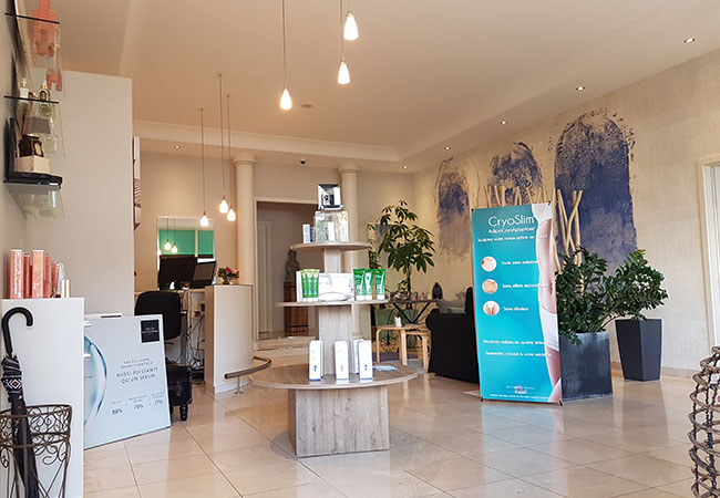 """""""Burn Up To 600 Calories in 30 Minutes"""" - Cosmopolitan Vital Dome® Private Infrared Sauna at Jardin d'Essences (Champel): Rated 4.7 Stars on Google  Sweat away the calories & toxins in the private infrared sauna at this cosy beauty center. 1 voucher = 2 or 5 sessions  Photo"""