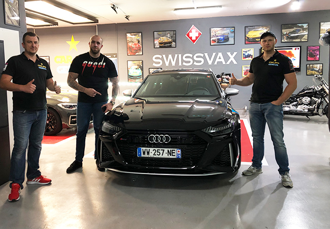 Recommended by 100% of BuyClubbers  Pro Car Wash by Hand - Interior & Exterior - at Car Spa Geneva (near Ikea Vernier)  For any car size up to and including SUV, using premium Swissvax products  Photo