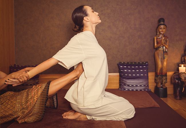 Extra Vouchers Added Thai Massage or Acupuncture by ASCA-Certified Therapist May Lucken at Qi Clinic (Champel)  May is a highly-qualified Asian medicine specialist who graduated from the Zeijang College of Traditional Chinese Medicine in Hangzhou, China     Photo