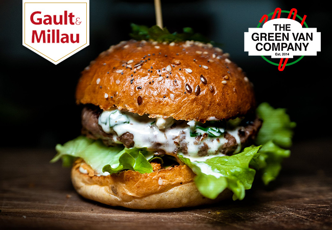 Burgers at The Green Van Company (Eaux-Vives): CHF 50 Credit